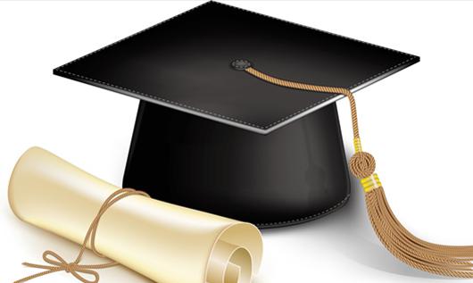 大学生学士帽
